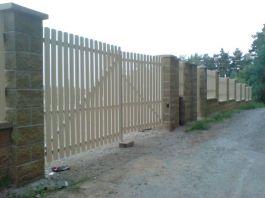 Vjezdová brána dvoukřídlá
